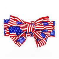 American Flag Head Wrap