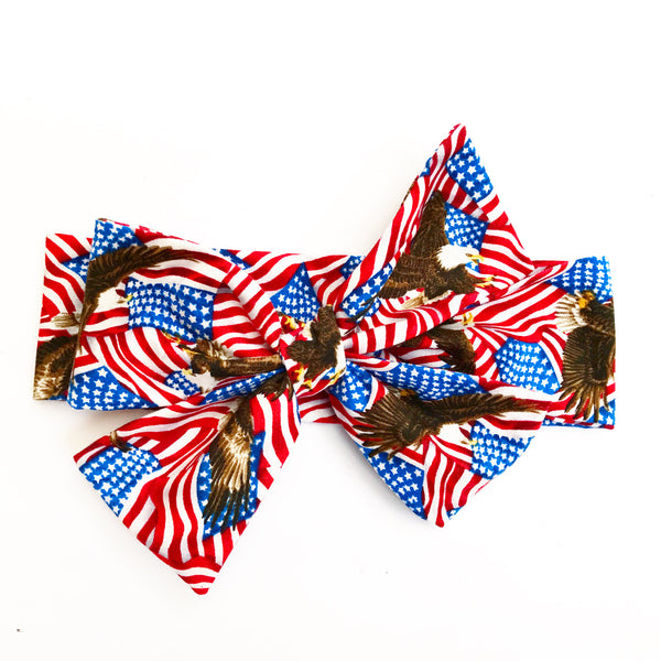 Star Spangled Banner Head Wrap