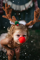 Rudolph's Reindeer Head Band