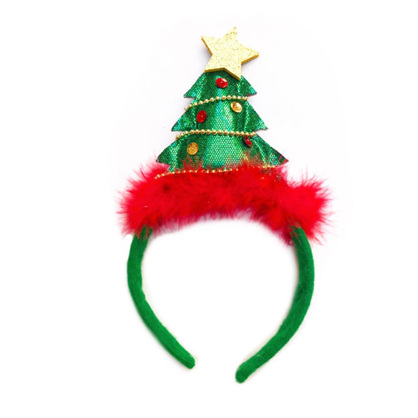 Christmas Tree Star Head Band