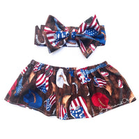All American Cowgirl Crop Top