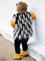 Black Vixen Faux Fur Vest
