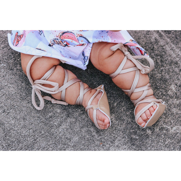Classic Tan Gladiator Sandals