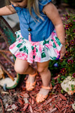 Garden Floral Bloomer Skirt