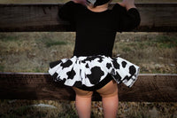 Cow Print Bloomer Skirt