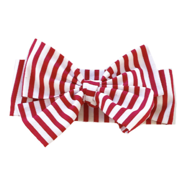 Red Stripes Head Wrap