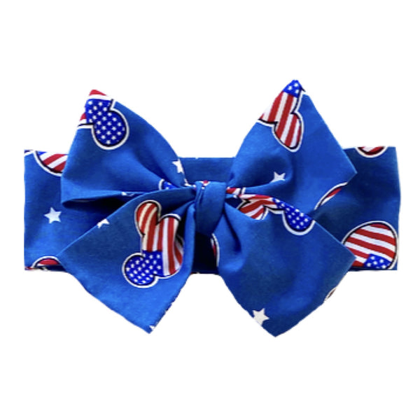 American Mickey Head Wrap