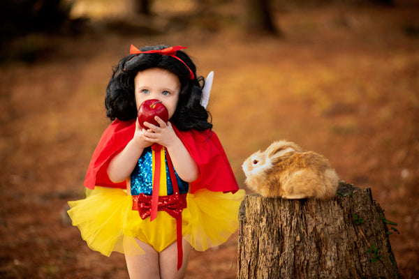 DELUXE Snow White inspired Princess Romper