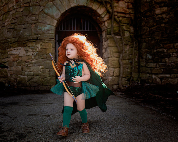 Princess Merida BRAVE Inspired Romper
