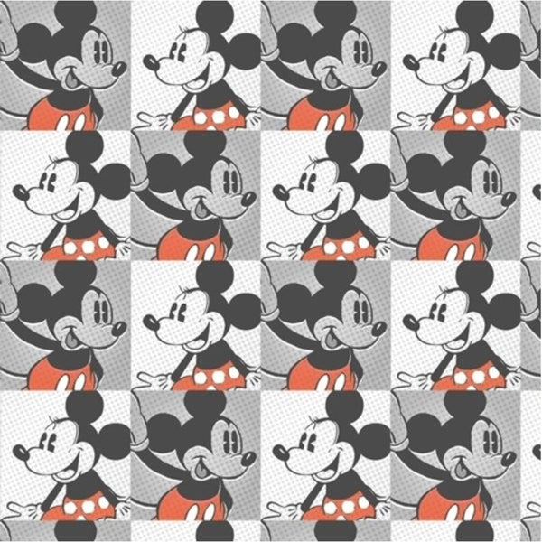 Minnie & Mickey Squares Face Mask