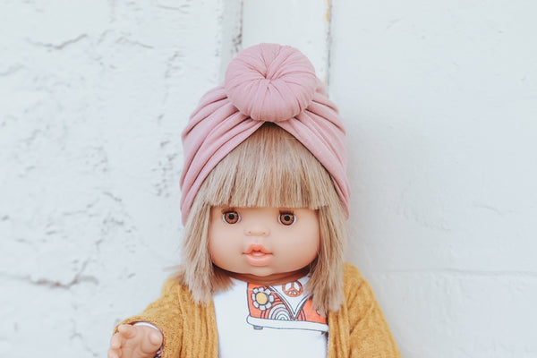 Blush Minikane Turban