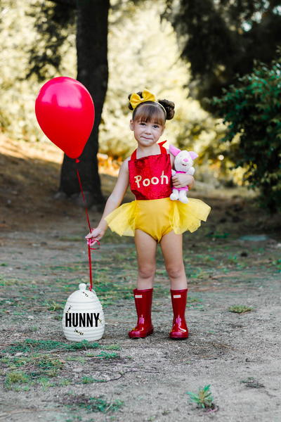 Winnie the Pooh inspired Romper