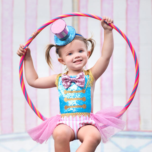 "Cotton Candy ""Ringmaster"" Romper"