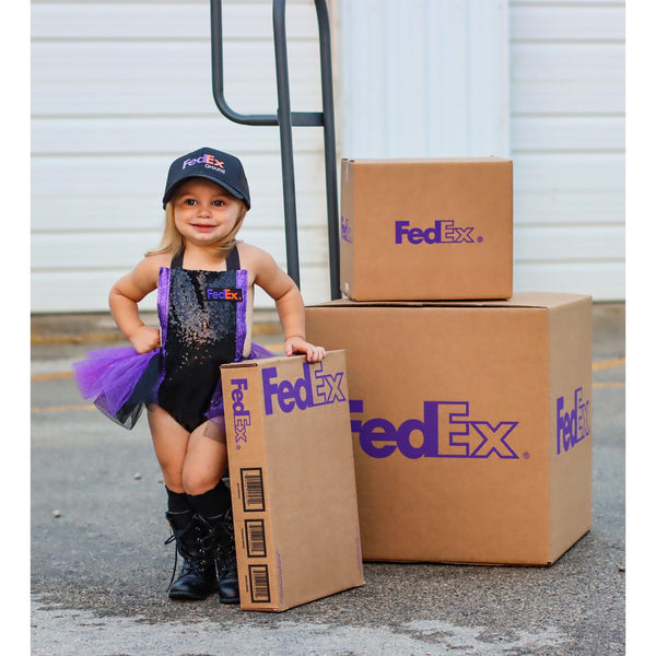 FED EX inspired Romper