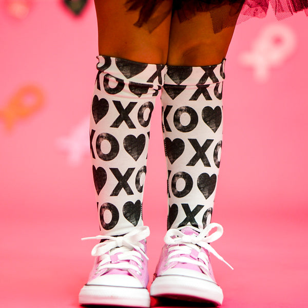 X's & O's Knee High Socks