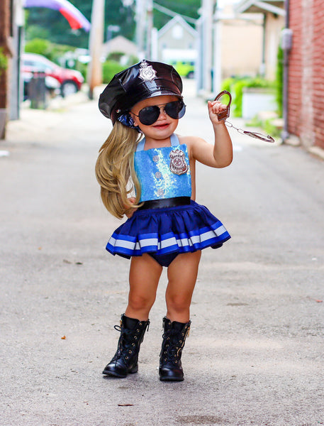 Police Officer inspired Romper