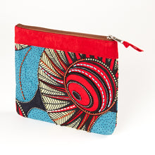 "Load image into Gallery viewer, Zipper Pouch- ""Summer's Sun"""