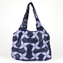 "Load image into Gallery viewer, Compact Kitenge Tote Bag- ""Pinwheel"""