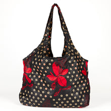 "Load image into Gallery viewer, Compact Kitenge Tote Bag- ""Lily"""