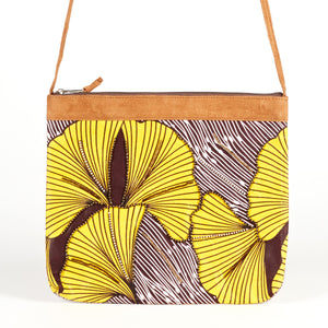 "Crossbody Purse- ""Amaryllis"""