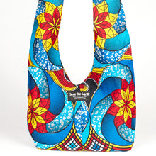 "Load image into Gallery viewer, Kitenge Bag - ""Sails"""
