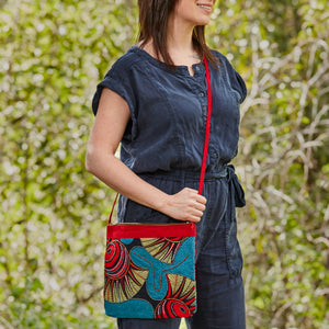 "Crossbody Purse- ""Summer's Sun"""