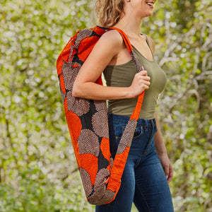"Yoga Mat Carrier- ""Equinox"""