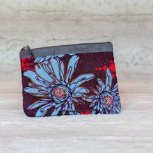"Load image into Gallery viewer, Zipper Pouch- ""Poppies"""
