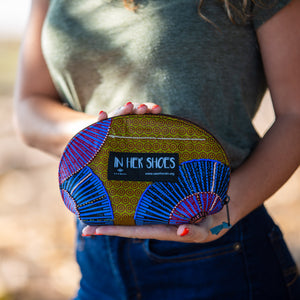 "In Her Shoes Travel Pouch - ""Mirage"""