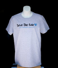 Load image into Gallery viewer, Heather Grey Unisex Save the Rain T-Shirt