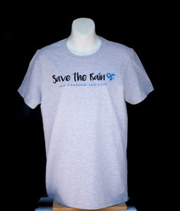 Heather Grey Unisex Save the Rain T-Shirt