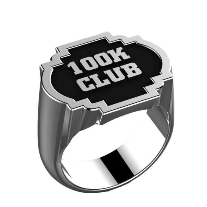 100K Club - J3 Rings - State Champions, National Champions, Conference Champs,  World Champion, League Champions,  Little League champions, Corporate Recognition