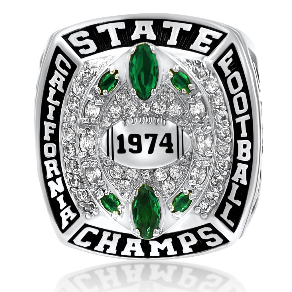 Spartan - Custom Championship Ring - J3 Rings - State Champions, National Champions, Conference Champs,  World Champion, League Champions,  Little League champions, Corporate Recognition