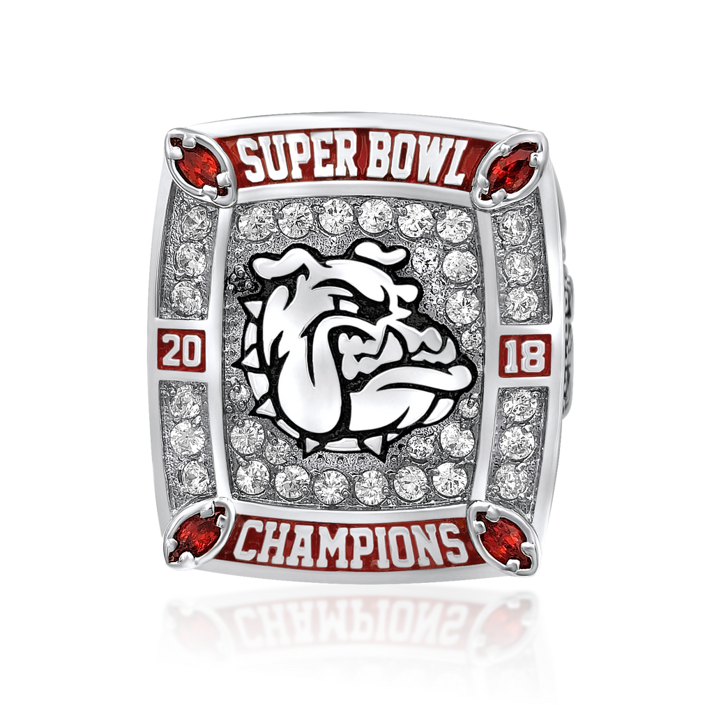 Warrior - Championship Ring - J3 Rings - State Champions, National Champions, Conference Champs,  World Champion, League Champions,  Little League champions, Corporate Recognition