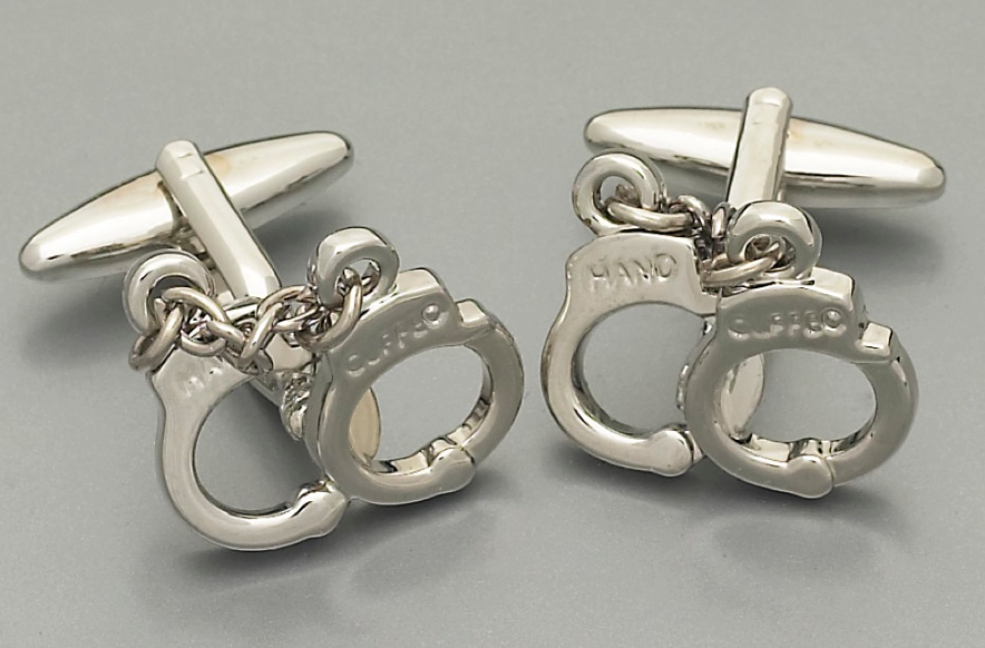 Handcuffs - J3 Rings - State Champions, National Champions, Conference Champs,  World Champion, League Champions,  Little League champions, Corporate Recognition
