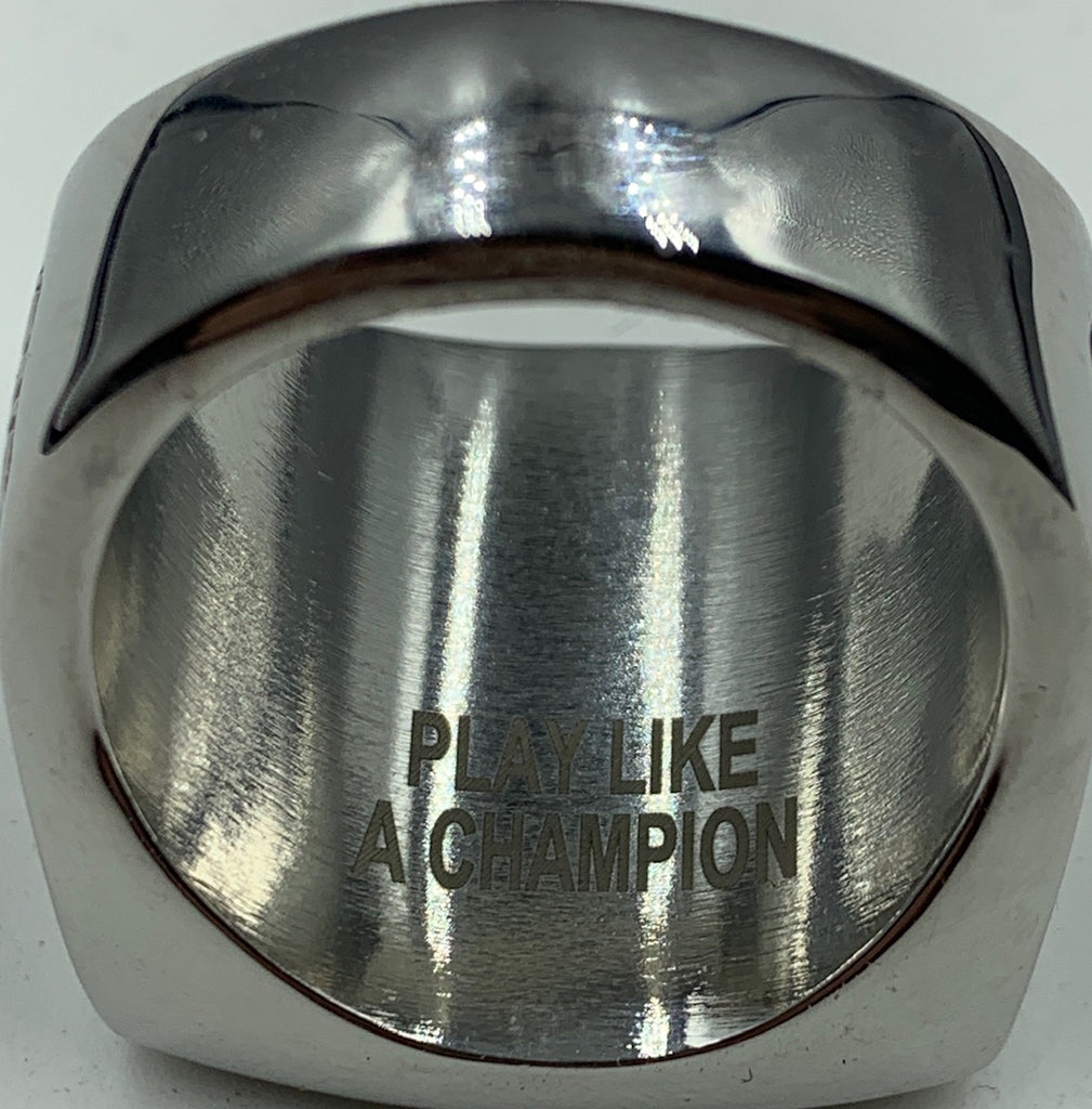 Inside engraving - J3 Rings - State Champions, National Champions, Conference Champs,  World Champion, League Champions,  Little League champions, Corporate Recognition
