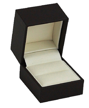 Matte Paper Covered Ring Box - J3 Rings - State Champions, National Champions, Conference Champs,  World Champion, League Champions,  Little League champions, Corporate Recognition