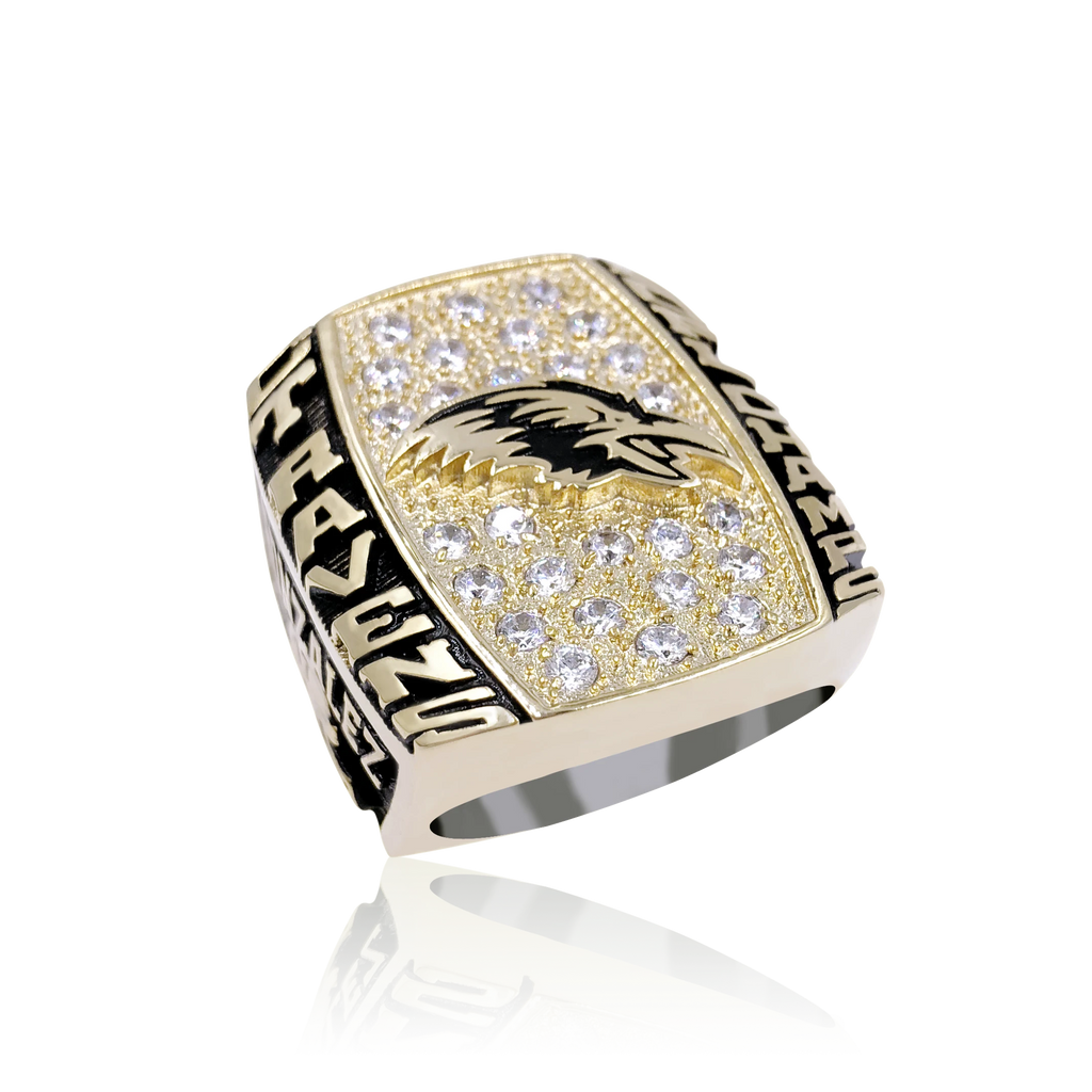 Guardian - Custom Championship Ring - J3 Rings - State Champions, National Champions, Conference Champs,  World Champion, League Champions,  Little League champions, Corporate Recognition
