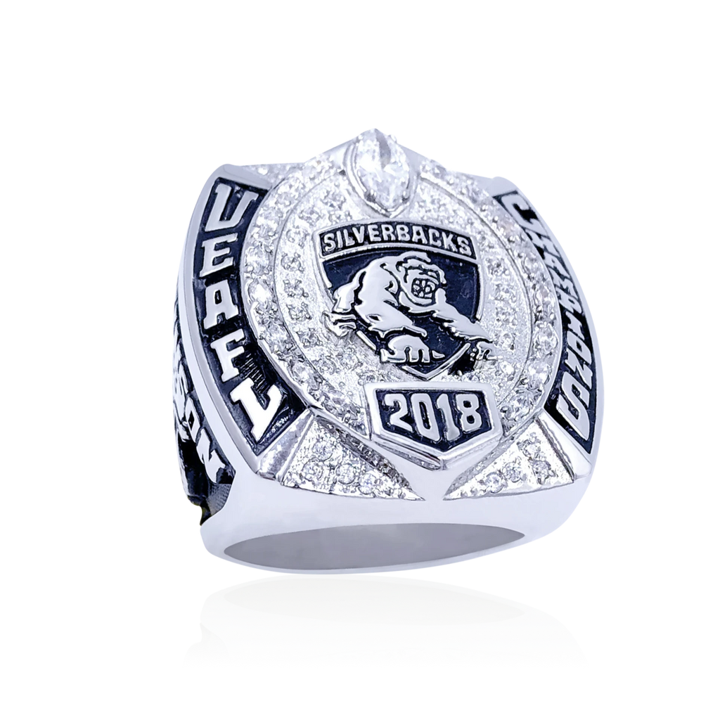 Gladiator - Custom Championship Ring - J3 Rings - State Champions, National Champions, Conference Champs,  World Champion, League Champions,  Little League champions, Corporate Recognition