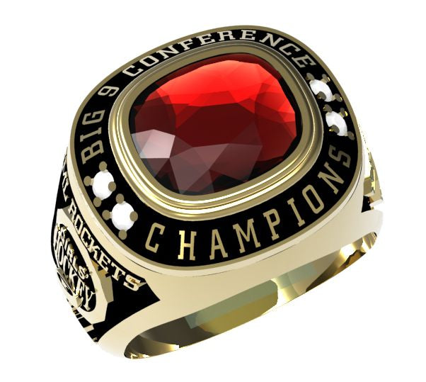 Regal - Custom Championship Ring - J3 Rings - State Champions, National Champions, Conference Champs,  World Champion, League Champions,  Little League champions, Corporate Recognition