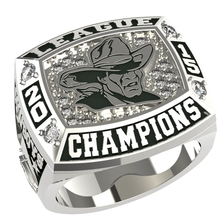 MVP - Custom Championship Ring - J3 Rings - State Champions, National Champions, Conference Champs,  World Champion, League Champions,  Little League champions, Corporate Recognition