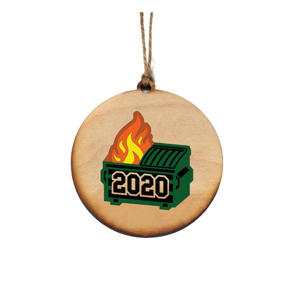 Christmas - Dumpster Fire 2020 Ornaments