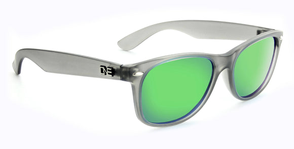 Revtown Sunglasses-Matte Crystal Grey