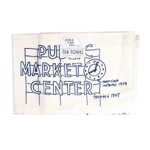 Seattle Tea Towel