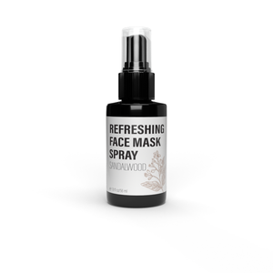 Refreshing Face Mask Spray Sandalwood