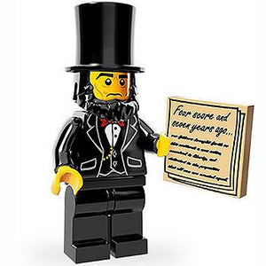 Abraham Lincoln - Series 1 The LEGO Movie Minifigure (2014)