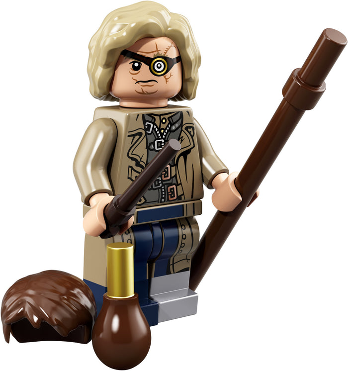 Alastor 'Mad Eye' Moody - Series 1 Harry Potter LEGO Minifigure (2018)