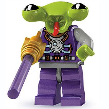 Space Alien - Series 3 LEGO Minifigure (2011)