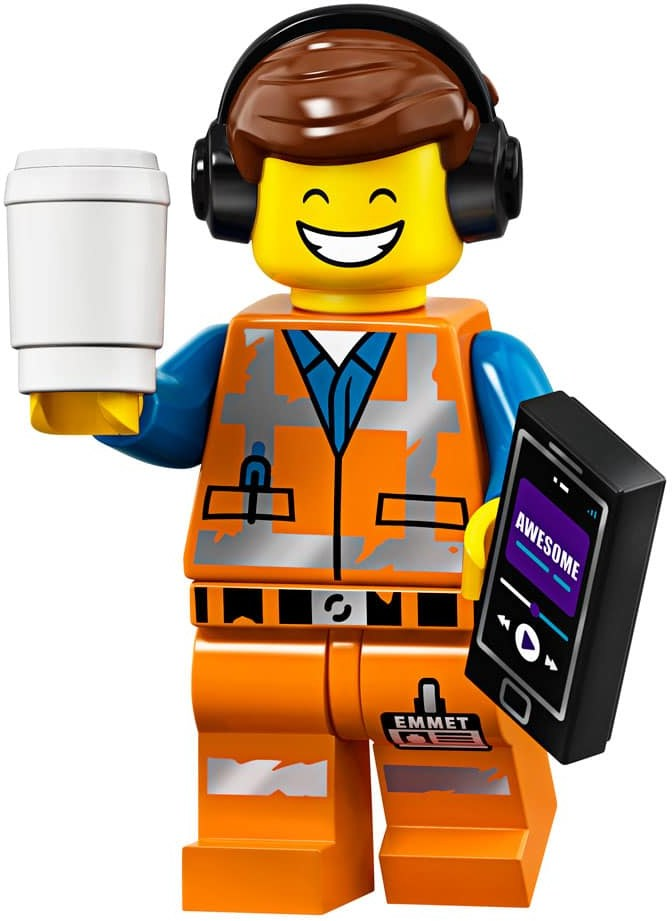 Awesome Remix Emmet - The LEGO Movie 2 Minifigure (2019)