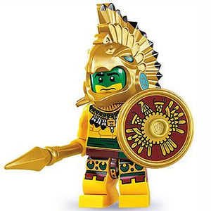 Aztec Warrior - Series 7 LEGO Minifigure (2012)